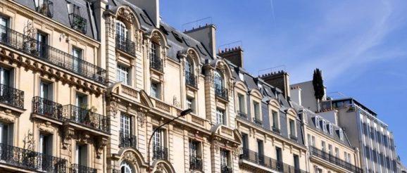 Des immeubles en France