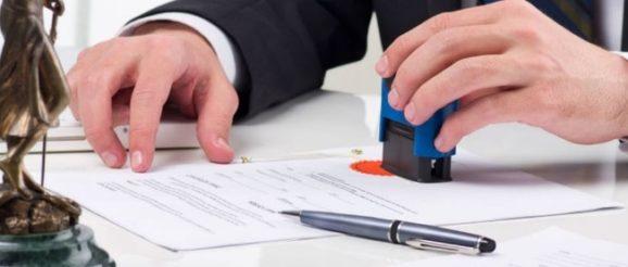 Signature de vente chez le notaire