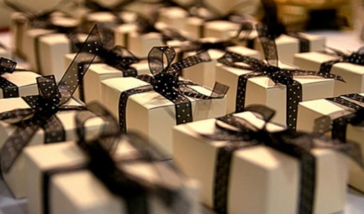 Des cadeaux emballés