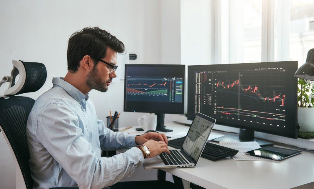 Trading bourse monde