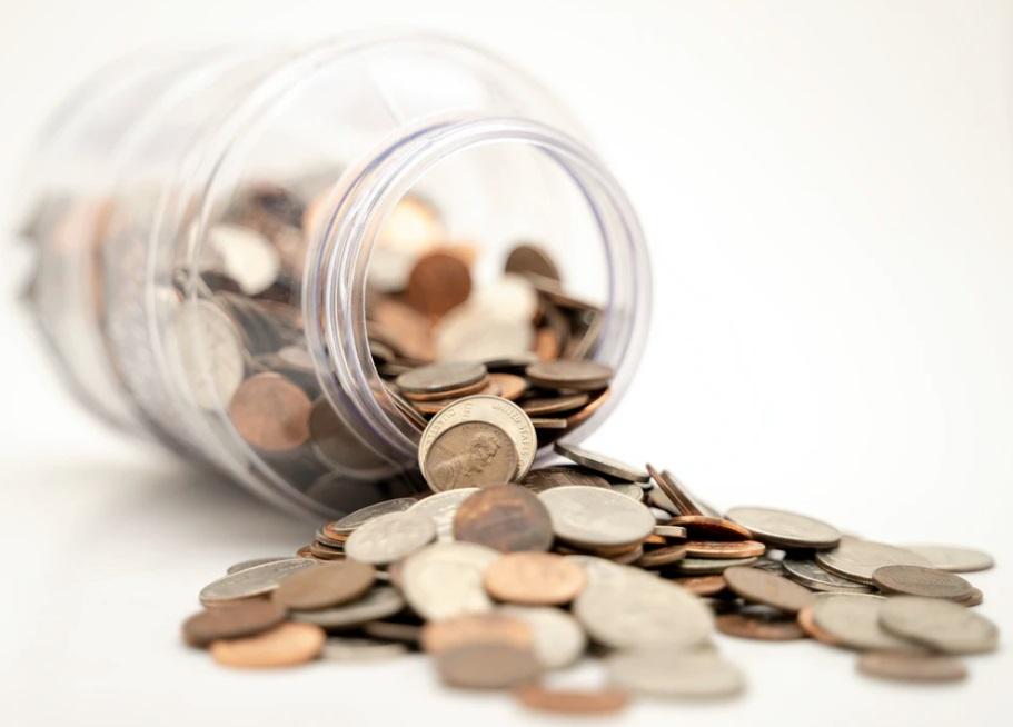 Bocal à monnaie