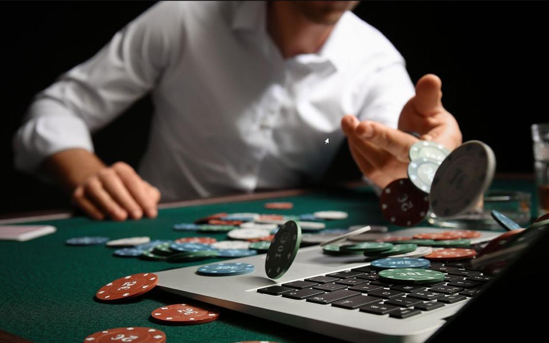homme jeux de table casino